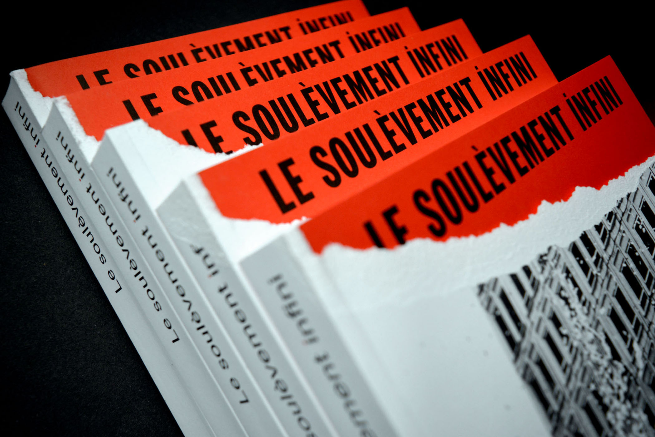 Le soulèvement infini — Catalogue